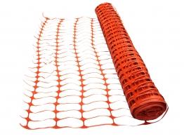 4trade Orange Barrier Fencing 50m