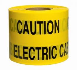 Caution Underground Hazard Tape Yellow 365m X 150mm