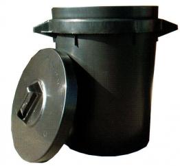 Heavy Duty Dustbin With Lid 90l