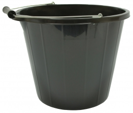 Strata Builders Bucket Black 14l