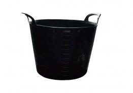 Strata Builders Tub Black 40l