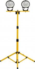 Defender Tripod Worklight 110v Twin E709103