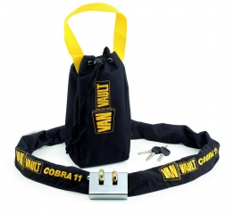 Cobra 11 Security Chain + Lock 11mm S10125
