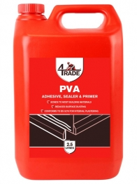 4trade Pva Building Adhesive, Sealer And Primer 2.5l