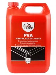 4trade Pva Building Adhesive, Sealer And Primer 5l
