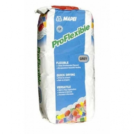 Pro Flexible Grey Tile Adhesive 20kg