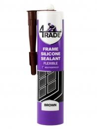 4trade Frame Silicone Sealant Brown