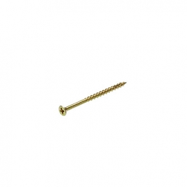 Bullet 4.0 X 70mm Gold Wood Screw (160)