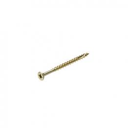 Bullet 5.0 X 80mm Gold Wood Screw (220)