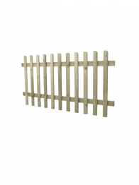 Picket Fence Round Top Pressure Treated 1830mm X 900mm