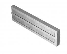 Supreme Concrete Recessed Gravel Board 12in