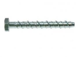 4trade Ankerbolt Hexagon Head Zinc Plated 12m X 100mm Pack 10