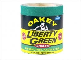 Oakey Liberty Green Roll 115mm X 10m P80