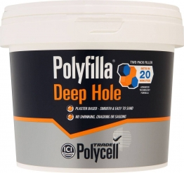 Polycell Polyfilla Trade Deep Hole Filler 1kg