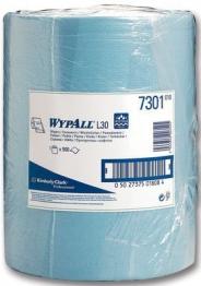 Wypall L30 7300 Wipes Blue Roll 500 Sheet 300mm X 240mm