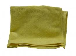 Heavy Duty Colour Coded Microfibre Cloth Yellow