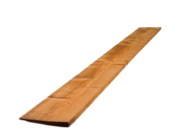 Brown Treated Featheredge (2 Ex) 22mm X 150mm X 1650mm