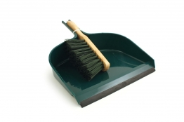 4trade Large Dust Pan And Pvc Brush