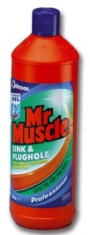 Mr Muscle Sink And Plughole 1l