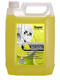 Super Hard Surface Cleaner Lemon 5l
