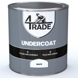4trade Undercoat Paint White 1l