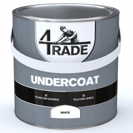 4trade Undercoat Paint White 2.5l