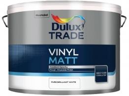 Dulux Trade Vinyl Matt Pure Brilliant White 10l 2011