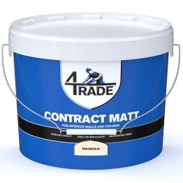 4trade Trade Contract Matt Emulsion Paint Magnolia 10l