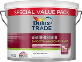 Dulux Smooth Masonry Paint Pure Brilliant White 7.5l
