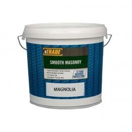 4trade Paint Smooth Masonry Magnolia 10l