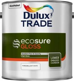 Dulux Trade Ecosure Gloss Pure Brilliant White 2.5l