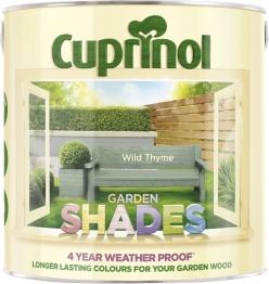 Cuprinol Garden Shades Wild Thyme 2.5l