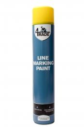 4trade Line Marking Paint Yellow 750ml