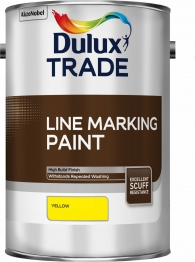 Dulux Line Marking Paint Yellow 5l