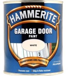 Hammerite Garage Door Enamel White 750ml