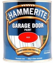 Hammerite Garage Door Enamel Red 750ml