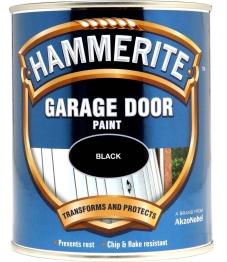 Hammerite Garage Door Enamel Black 750ml