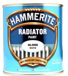 Hammerite Radiator Enamel Gloss White 500ml