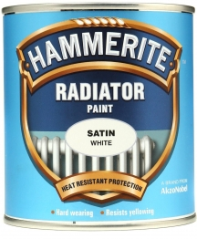 Hammerite Radiator Enamel Satin White 500ml
