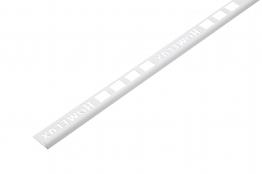Homelux Tile Trim Standard White 2500mm X 6mm