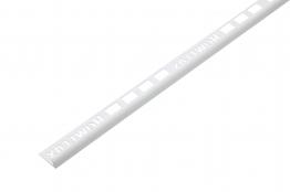 Homelux Tile Trim Standard White 2500mm X 9mm