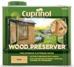 Cuprinol Wood Preserver Clear 2.5l