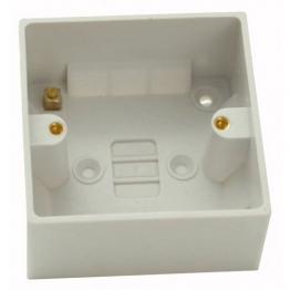 4trade Pattress Box 1 Gang 25mm
