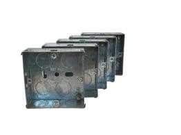 4trade Metal Box 1 Gang 25mm