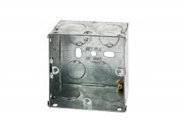 4trade Metal Box 1 Gang 35mm
