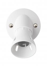 Mk Ceiling Accessories Angled Batten Lamp Holder