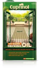 Cuprinol Uv Guard Decking Oil Natural 5l