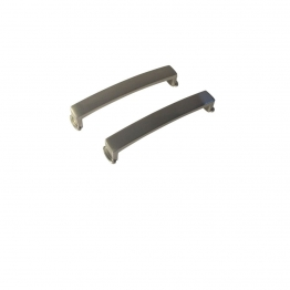 Tp Ohio/tulsa Handle Brushed Nickel Pack 2