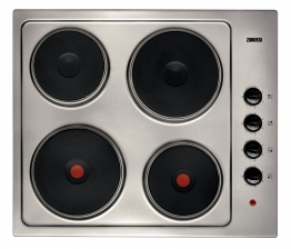 Zanussi Zee614ofxa Electric Hob Stainless Steel