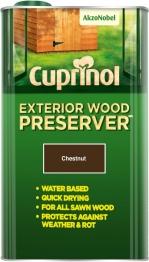 Cuprinol Exterior Wood Preserver Chestnut (bp) 5l